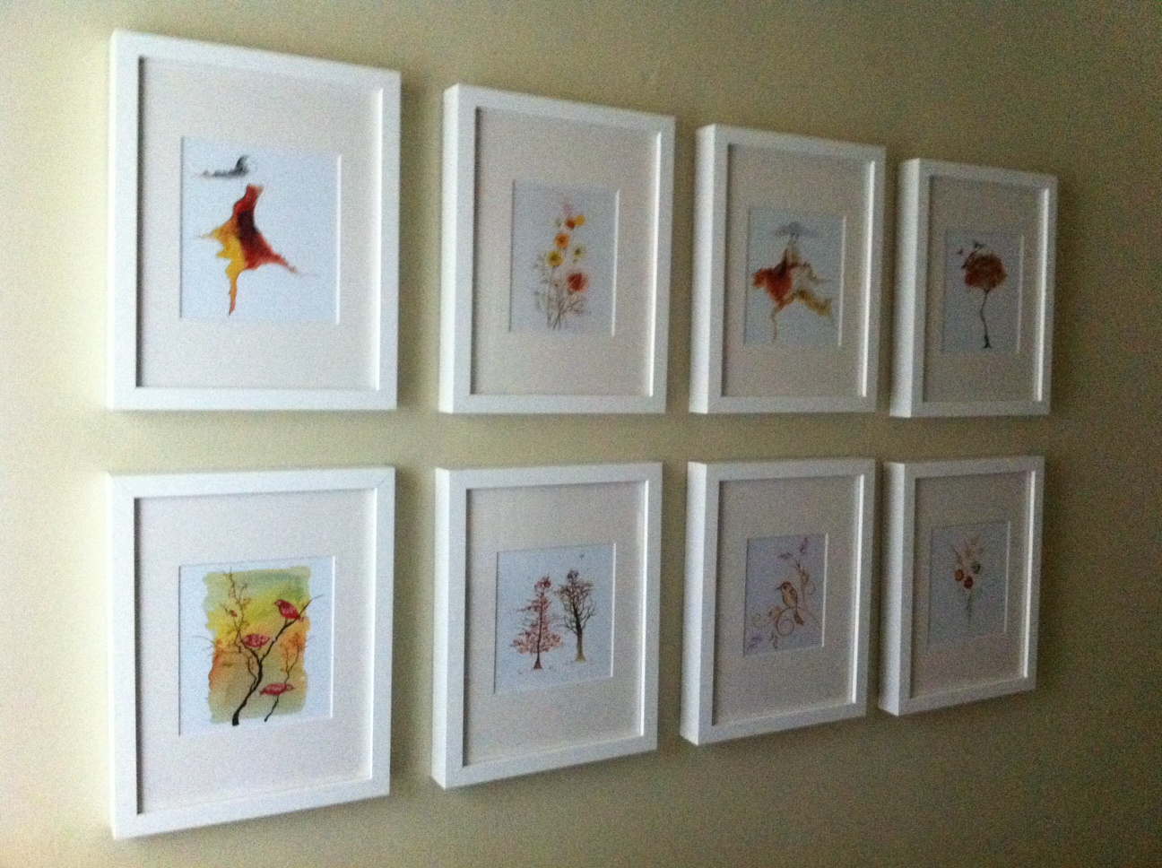 Easy Wall Art Designs : Easy artwork ideas the craftery